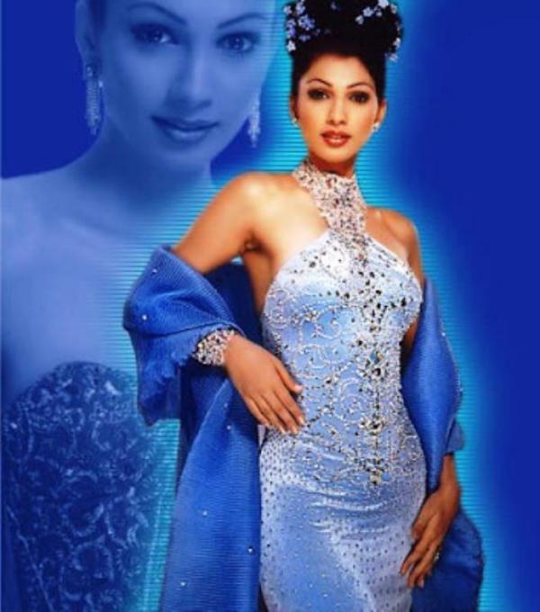 Yukta Mookhey Hoa hậu Thế giới 1999