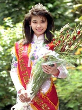Hà Kiều Anh Hoa hậu Việt Nam 1992