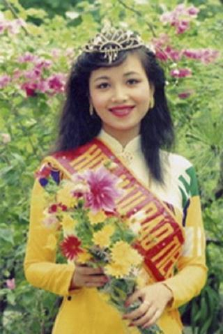 Nguyễn Diệu Hoa Hoa hậu Việt Nam 1990