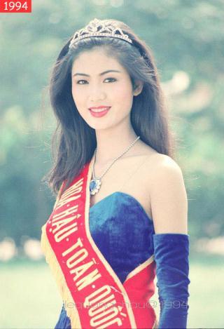 Nguyễn Thu Thủy Hoa hậu Việt Nam 1994