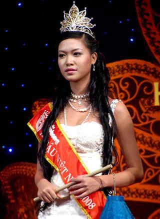 Trần Thị Thùy Dung Hoa hậu Việt Nam 2008