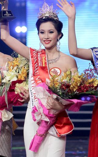 Đặng Thu Thảo Hoa hậu Việt Nam 2012